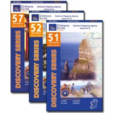 The Burren Way Map Bundle | 1:50,000 Discovery Series