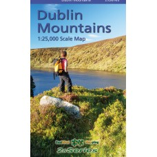 Dublin Mountains | 1:25,000 Scale Map | 25 Series