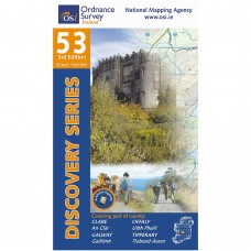 OSI Discovery Series | Sheet 53 | Part of Clare, Galway, Offaly & Tipperary