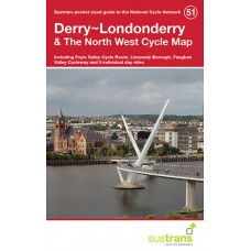 Sustrans Map 51 | Derry~Londonderry & The North West Cycle Map