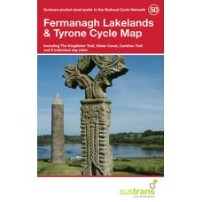 Sustrans Map 50 | Fermanagh Lakelands & Tyrone Cycle Map